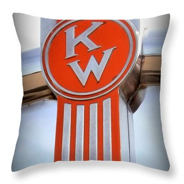 Kenworth Insignia Throw Pillow