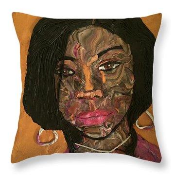 Kenya Throw Pillow