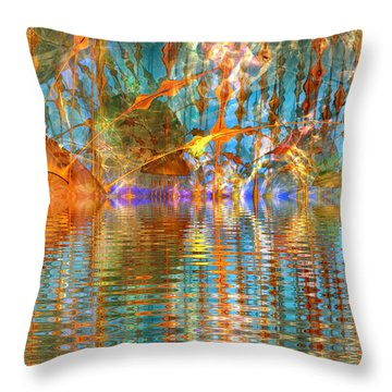 Kepler-62f Throw Pillow