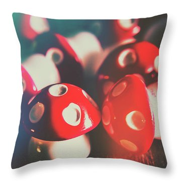 Kept Out In The Dark Throw Pillow