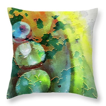 Kernodle On The Half Shell Throw Pillow