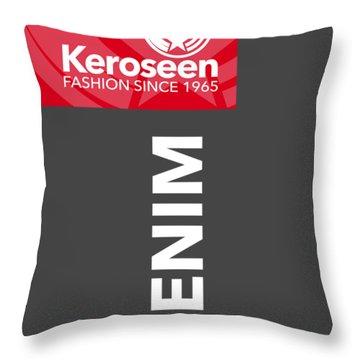 Keroseen Fashion Since 1965 Throw Pillow by Nop Briex