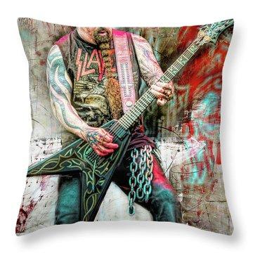 Kerry King, Slayer Throw Pillow