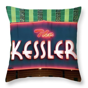 Kessler Theater 042817 Throw Pillow