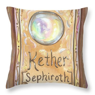 Kether Throw Pillow