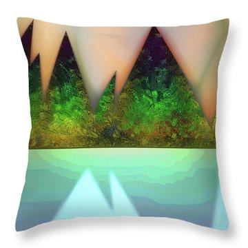 Kettle Fifteen Throw Pillow