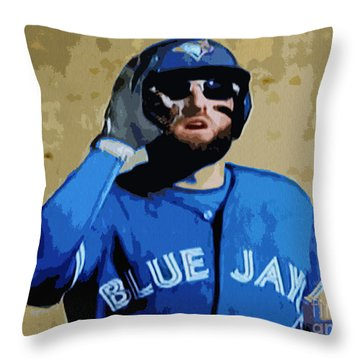 Kevin Pillar Throw Pillow
