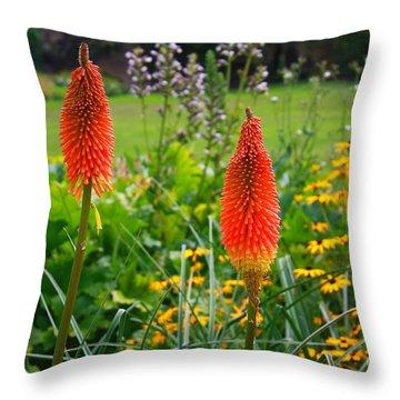 Kew Gardens Throw Pillow