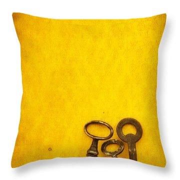 Key Family Throw Pillow