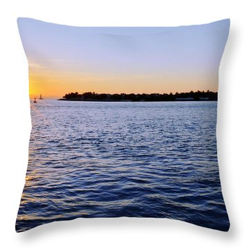 Key Glow Throw Pillow