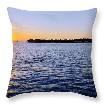 Key Glow Throw Pillow