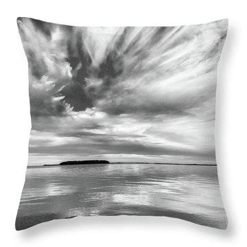 Key Largo Sunset Throw Pillow
