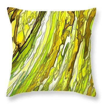 Key Lime Delight Throw Pillow