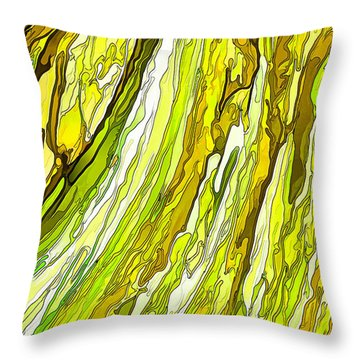 Key Lime Delight Throw Pillow by ABeautifulSky Photography