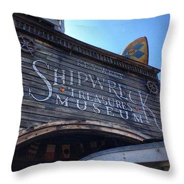 Key Museum  Throw Pillow