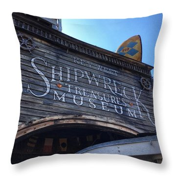 Key Museum  Throw Pillow