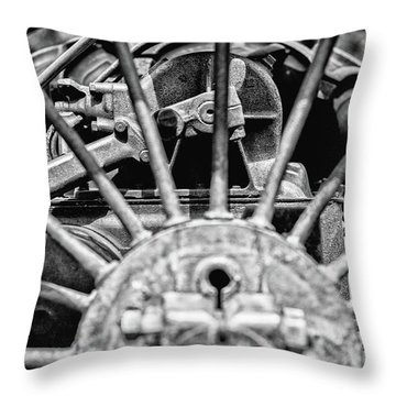 Key To Life Throw Pillow