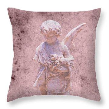 Key West Angel #2 Throw Pillow