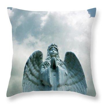 Key West Angel #5 Throw Pillow