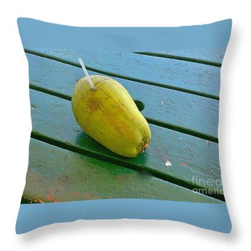 Key West Anyone? Throw Pillow