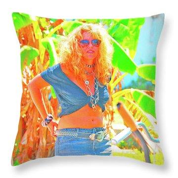 Key West Life Throw Pillow