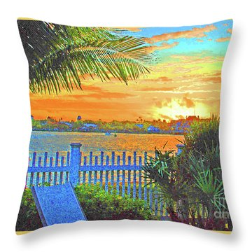 Key West Life Style Throw Pillow