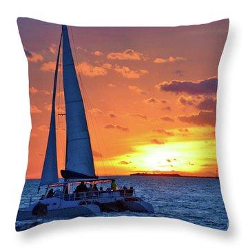 Key West Magic Throw Pillow