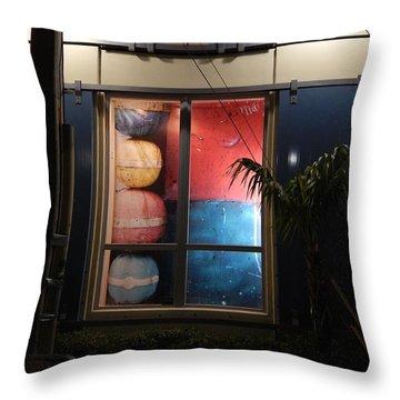 Key West Window Throw Pillow by Expressionistart studio Priscilla Batzell