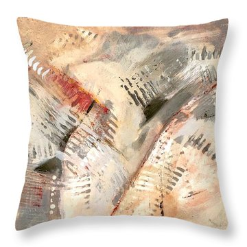 Keyboard Rhythm Throw Pillow