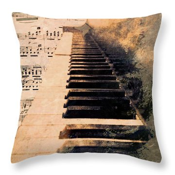 Throw Pillow featuring the photograph Keys To Greatness  by Aaron Berg