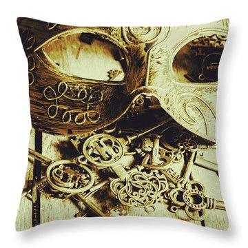 Keys To The Kingdom Throw Pillow