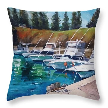Kiama Harbour Throw Pillow