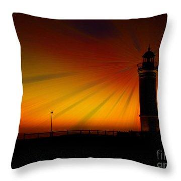 Kiama Lighthouse Throw Pillow