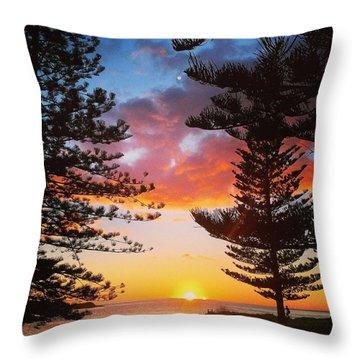 Kiama Sunrise Throw Pillow