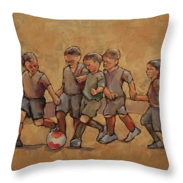 Kick It Throw Pillow