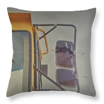 Throw Pillow featuring the photograph Kick by Mark Ross