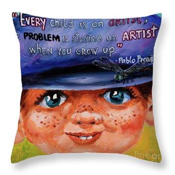 Kid Throw Pillow