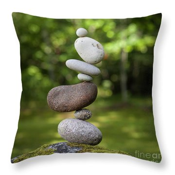 Kidney Bean Throw Pillow