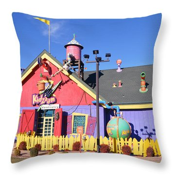 Kidzam Throw Pillow by Bill Dutting
