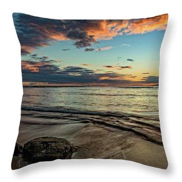 Kihei, Maui Sunset Throw Pillow