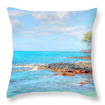 Kihei Paradise Throw Pillow