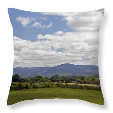 Kilbenhenny County Limerick Ireland Throw Pillow