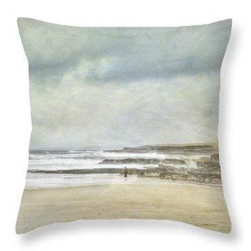 Kilcummin Back Strand Throw Pillow