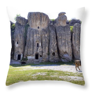 Kilistra - Turkey Throw Pillow