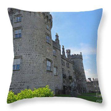 Kilkenny Castle Day 9 Throw Pillow