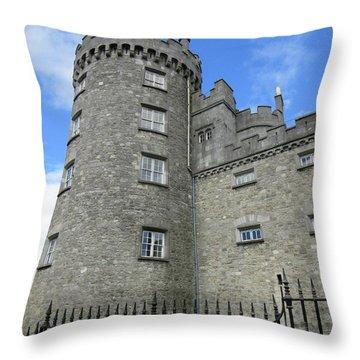 Kilkenny Castle Tower Throw Pillow