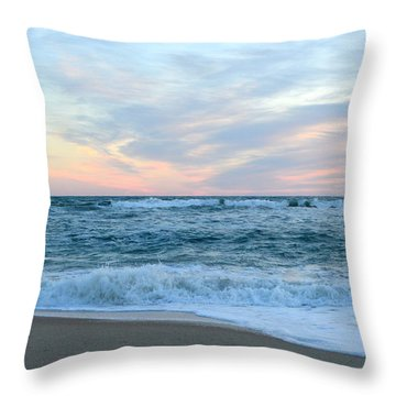 Throw Pillow featuring the photograph Kill Devil Hills 11/24 by Barbara Ann Bell
