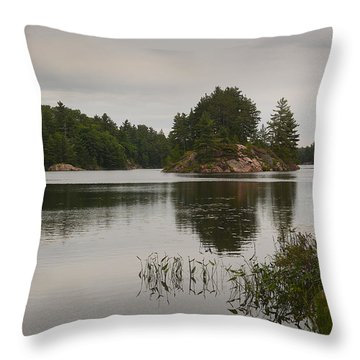 Killarney-carlyle Lake Throw Pillow