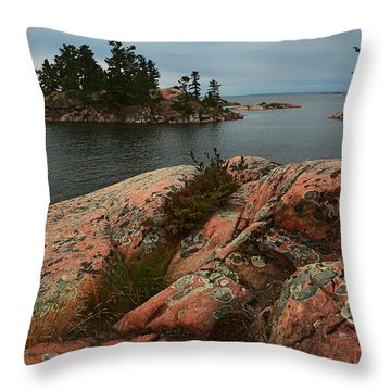 Killarney Chikanishing Trail-1 Throw Pillow