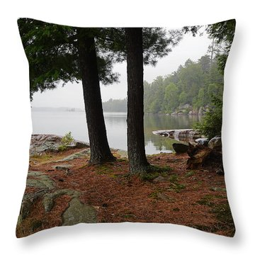 Killarney Scenic-1 Throw Pillow